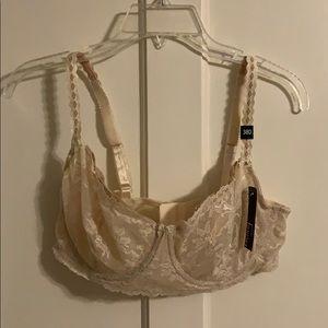 New lace demi bra 38 D